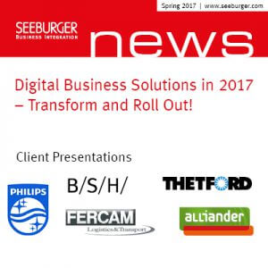 Digital Business Solutions in 2017 – Transform and Roll Out!