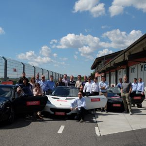 SEEBURGER Client Day Italy 2017: supercar fun at Tazio Nuvolari Circuit!