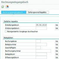 Rechnungseingangsbuch