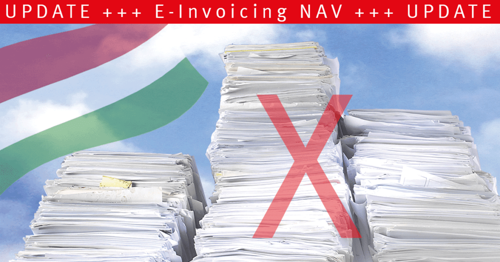 "Wann wird Real Time Invoice Reporting (RTIR) zu ""Real Time E-Invoicing"" in Ungarn?"